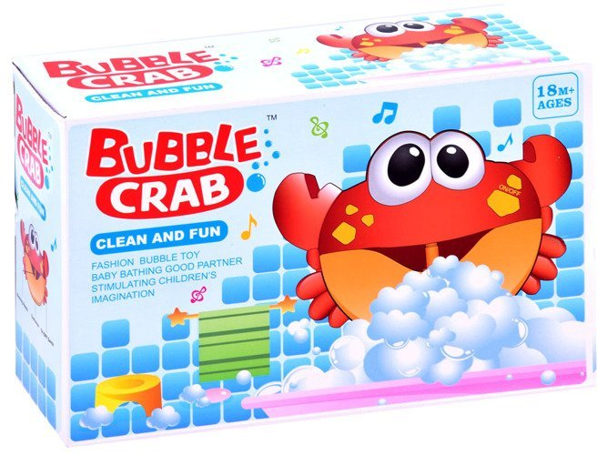 Bąbelkowy wesoły Krab zabawka do kąpieli ZA2687 sklep