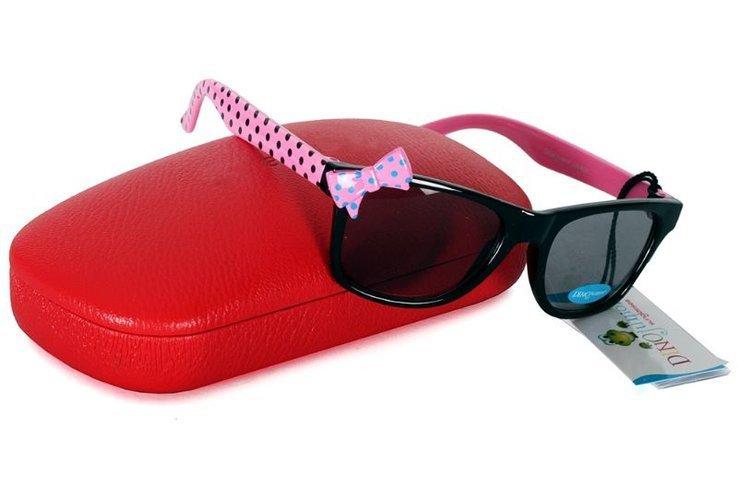 Okulary dziewczęce KOKARDKI Okulary przeciwsłoneczne