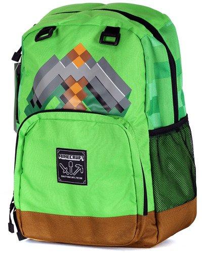 e5ba077b00287 Plecak szkolny Minecraft KILOF zieleń jakość 44 cm