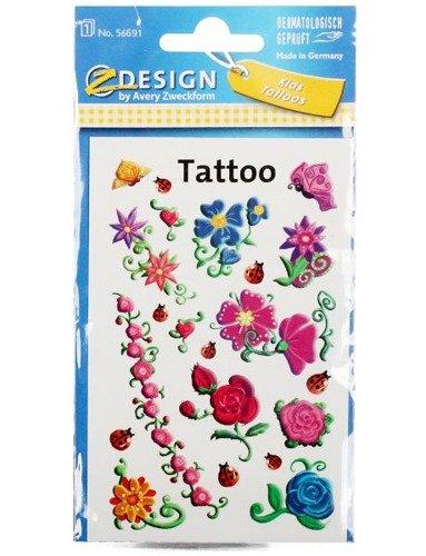 Tatuaże Wodne Dla Dzieci Kwiaty