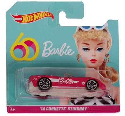 Mattel HOT WHEELS 14 Corvette Stingray