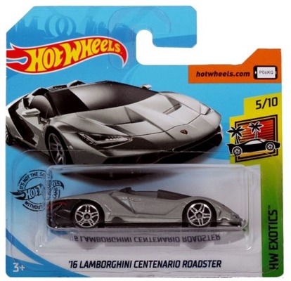 Mattel HOT WHEELS Lambirghini Centenario Roadster
